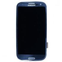 rechange Samsung Galaxy S3 4G 9305 : Ecran complet bleu - pièce détachée
