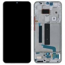 Vitre écran Origine Xiaomi Mi 10 Lite 5G blanc