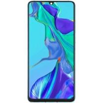 Vitre écran Oled Huawei P30 bleu