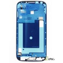 monture Samsung Galaxy S4 4G: Chassis intermediaire pour écran avec contour chromé