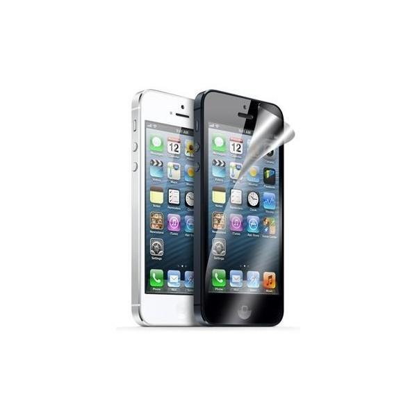 iphone 5 5s films de protection 1 avant 1 arri re accessoire. Black Bedroom Furniture Sets. Home Design Ideas