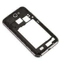 Samsung Galaxy Note 2 : monture grise contour argent arrière