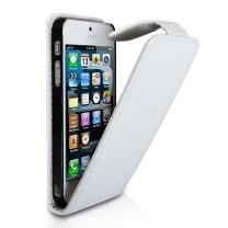 iPhone 5C : housse rabat blanc - accessoire