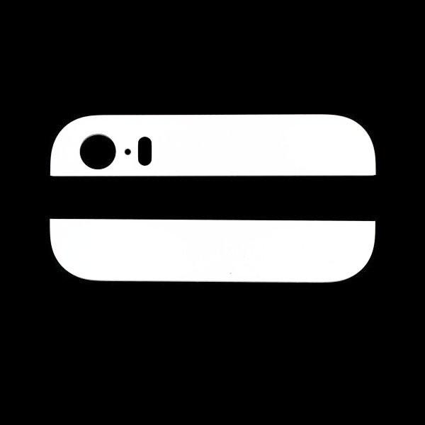 iPhone 5S : Vitres arrières haut bas blanches