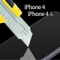 iPhone 4, 4s : support protecteur en verre d'ecran