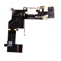 iPhone 5S : Connecteur de charge Blanc - pièce détachée