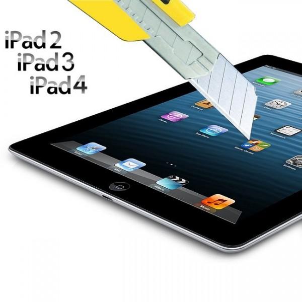 iPad 2, 3 et 4 retina : protection en verre pour ecran