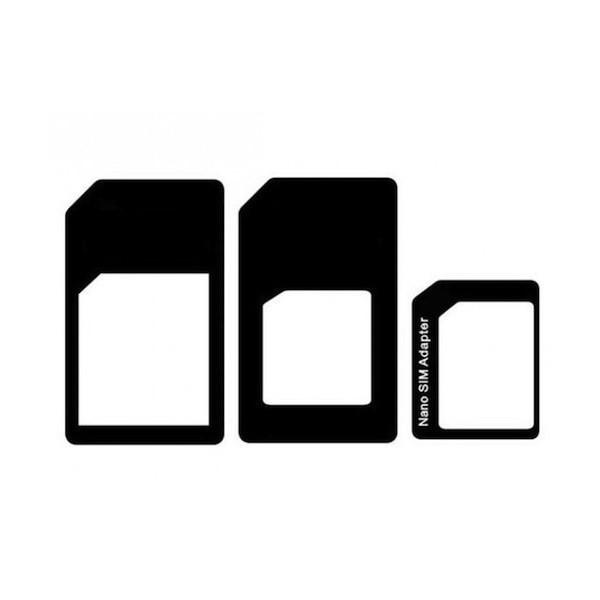 Lot 3 Adaptateurs Sim, micro sim et nano sim - accessoire