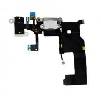 iPhone 5 : Connecteur de charge blanc - pièce détachée