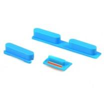 iPhone 5C remplacement : boutons Bleus Power, Volume, Vibreur - pièce détachée