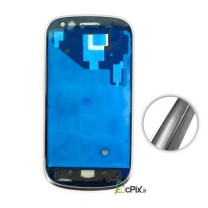 Galaxy S3 MINI GT-i8190 : Chassis avant et contour pour écran gris ou blanc
