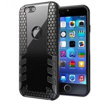 iPhone 6 / 6S : coque antichoc noire Gum Design - accessoire