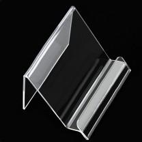 Chevalet LARGE de présentation en plexiglass (nu)