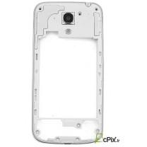 Galaxy S4 Mini GT-i9195 : assemblage contour argent arrière