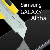 Verre protection d'ecran Galaxy Alpha