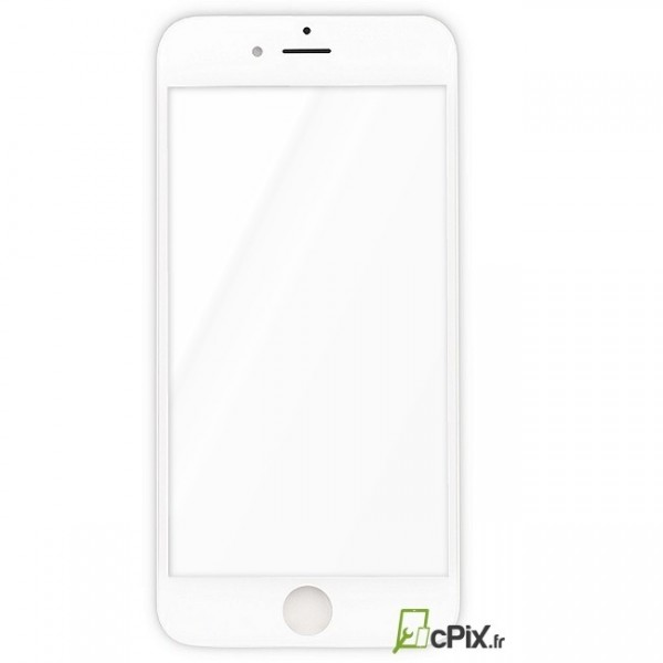 Vitre blanche avant iPhone 6 - recto