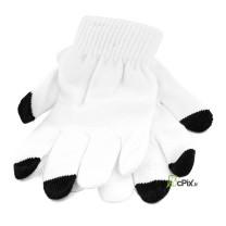 Paire de Gants blancs tactiles