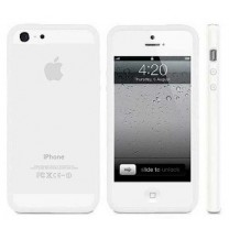 Bumper blanc iPhone 5, 5S, SE