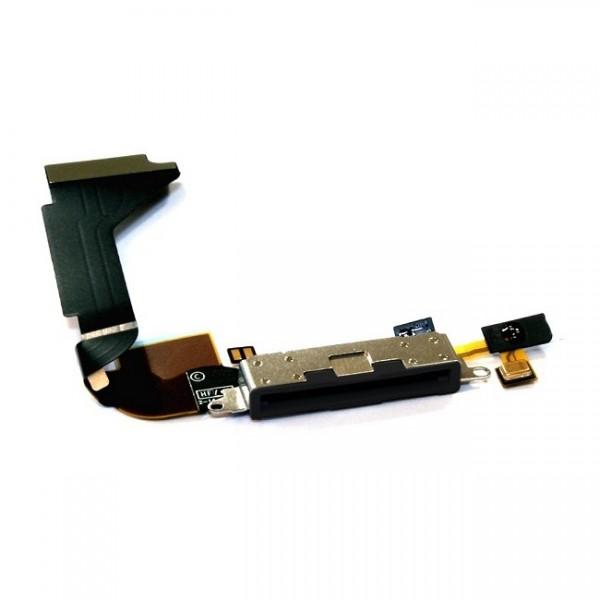 acheter connecteur de charge avec micro pour iphone 4 apple pas cher. Black Bedroom Furniture Sets. Home Design Ideas