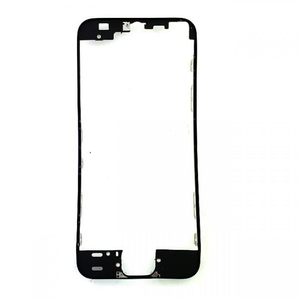 Monture avant et contour écran noir IPhone 5S