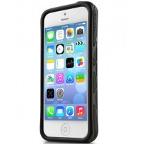 Bumper double protection Noir iPhone 5, 5S, SE