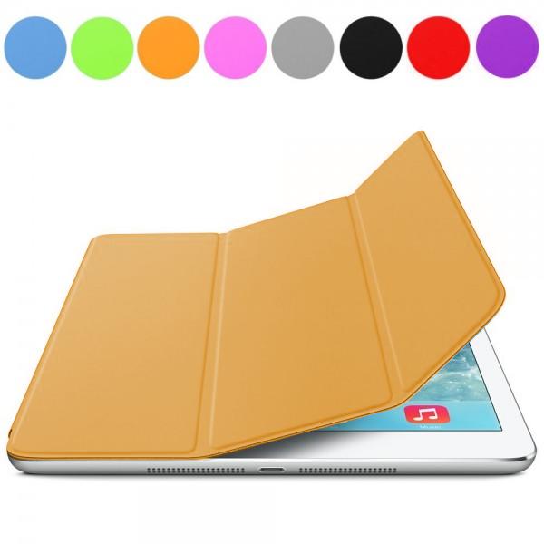 iPad Air : Cover aimantée orange