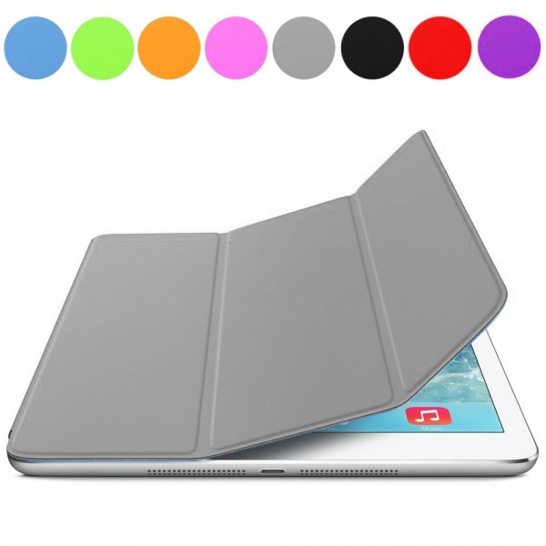 iPad Air : Cover aimantée gris
