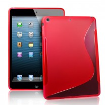 Etui gel rouge type S iPad Air