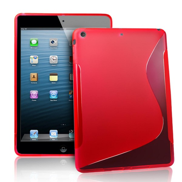 etui gel rouge s design pour ipad air apple fournisseur. Black Bedroom Furniture Sets. Home Design Ideas