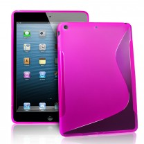 iPad Air : Etui gel rose type S
