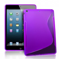 iPad Air : Etui gel violet type S