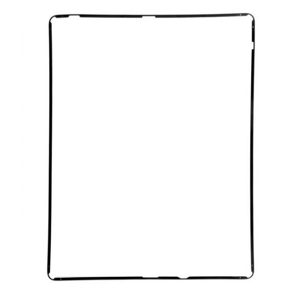 iPad 2 / 3 / 4 : Joint noir châssis - pièce détachée