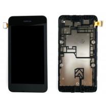 Nokia Lumia 530 : Complet tactile noire + écran LCD - pièce détachée