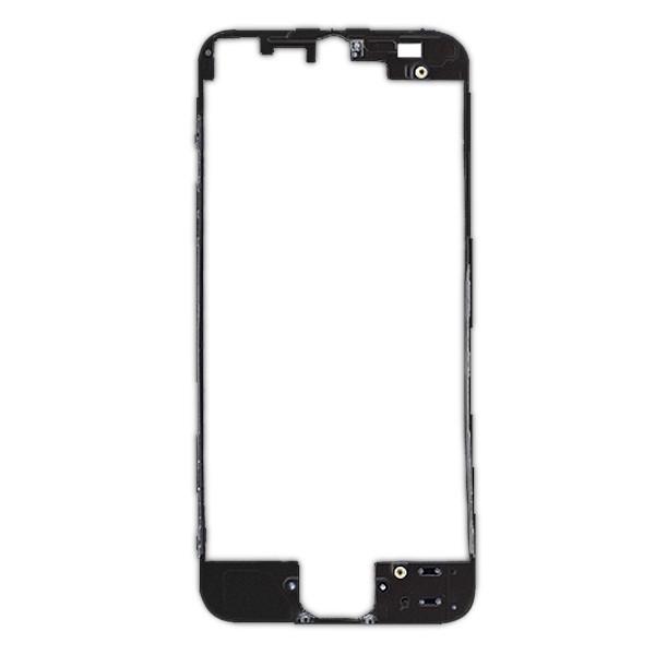 chassis avant et contour noir pour  u00e9cran iphone 5 noir