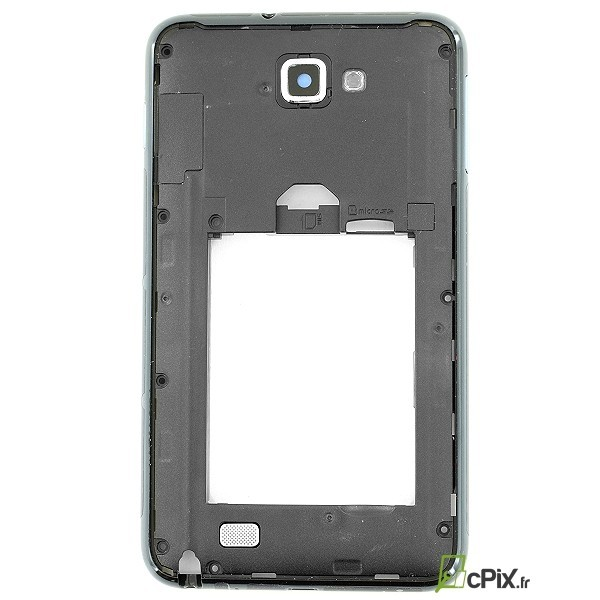 Châssis arrière NOIR pour Galaxy Note 1 GT-N7000