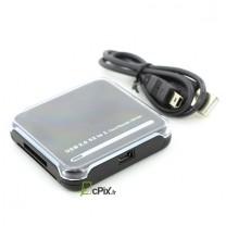 Lecteur de cartes mémoires USB 2.0