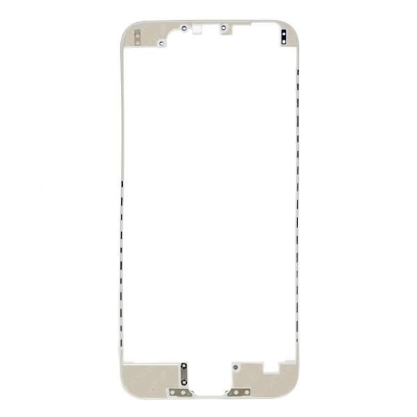 iPhone 6 : BEZEL Châssis d'écran Blanc préencollé