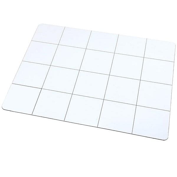 tapis de travail magn u00e9tique blanc quadrill u00e9 30 x 25