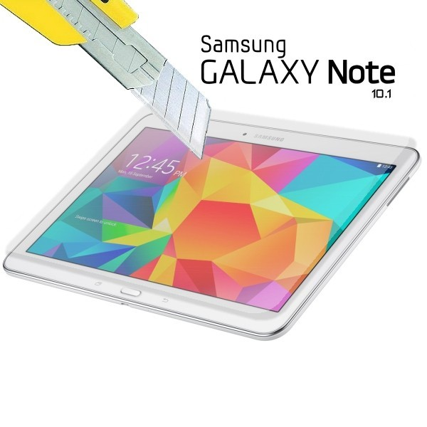 Verre protecteur galaxy note 10 1 gt n8000 film en verre tremp e protection - Tablette verre trempe ...