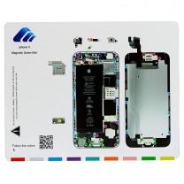 iPhone 6 : Tapis gabarit magnétique pour démontage des vis