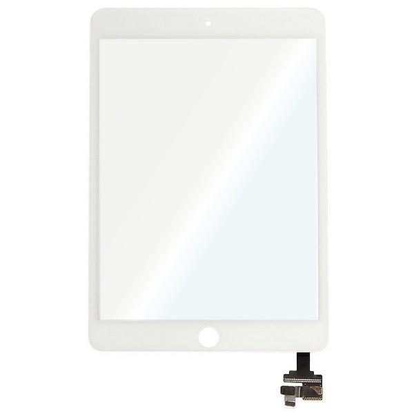iPad Mini 3 (A1599, A1600) : Vitre tactile BLANCHE