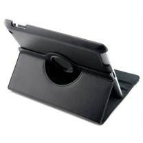 iPad 2 / 3 / 4 : Etui simili cuir noir 360° - accessoire