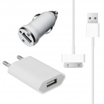 Kit recharge 3 en 1 pour iPhone