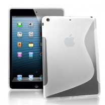 iPad Mini : Etui gel transparent type S