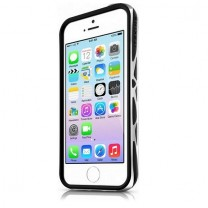 IPhone 5 / 5S / SE : Bumper à double protection noir et gris ITSKINS URBAN VENUM
