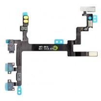 iPhone 5 : Nappe Power Vibreur Volume - pièce détachée