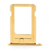iPhone 5s : Tiroir sim nano or (Gold) - pièce détachée