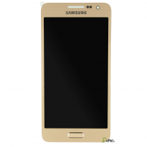 Ecran complet Galaxy A3 2015 Or Samsung Galaxy A3 SM-A300FU