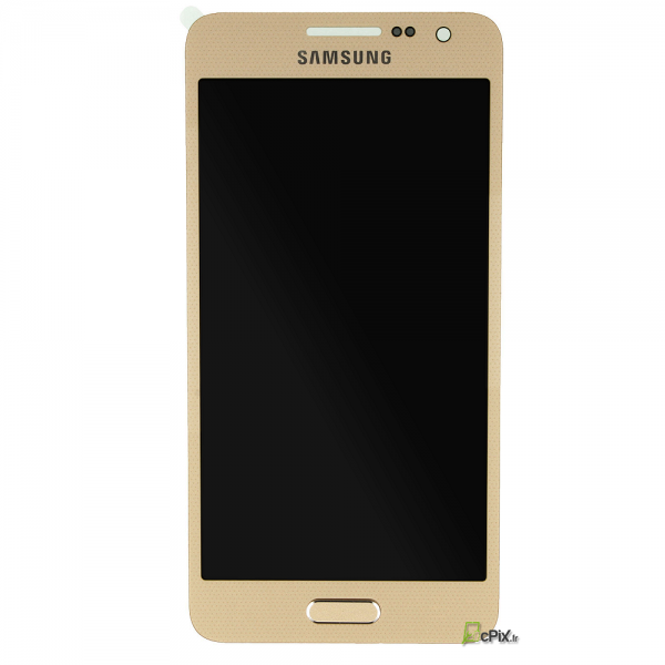 Vitre et ecran complet or gold samsung galaxy a3 2015 for Photo ecran galaxy a3