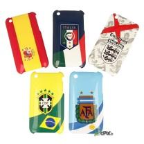 iPhone 3G et 3GS : Lots de 5 coques drapeaux pays